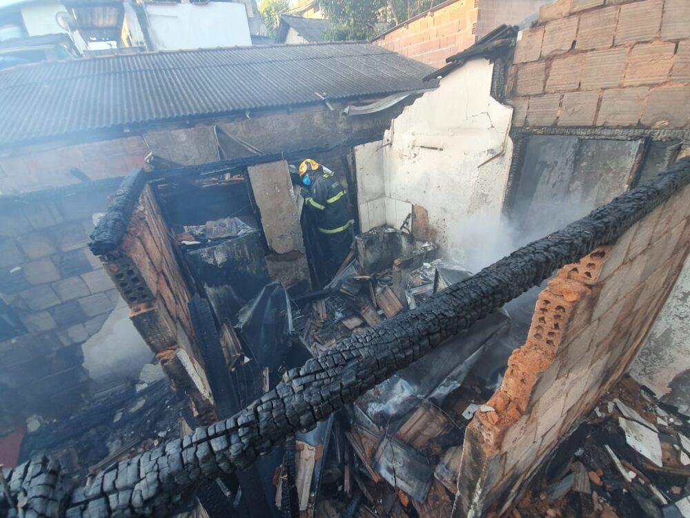incêndio no município do Castelo