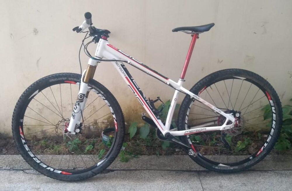 bicicleta roubada é encontrada pela PM em Guaçuí